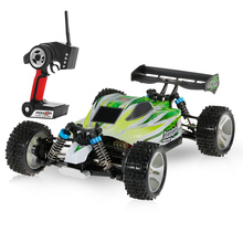 Wltoys A959-A A959-B 2.4G RC Car 1/18 Scale 4WD 70KM/h High Speed Electric RTR Off-road Buggy RC Car Vehicle Model Toys(China)