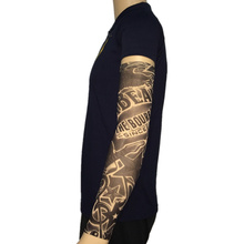 Star & Guitar Nylon Fake Tattoo Arm Warmers Oversleeve Temporary Tattoo Arm Sleeves For  Exercise Sunscreen