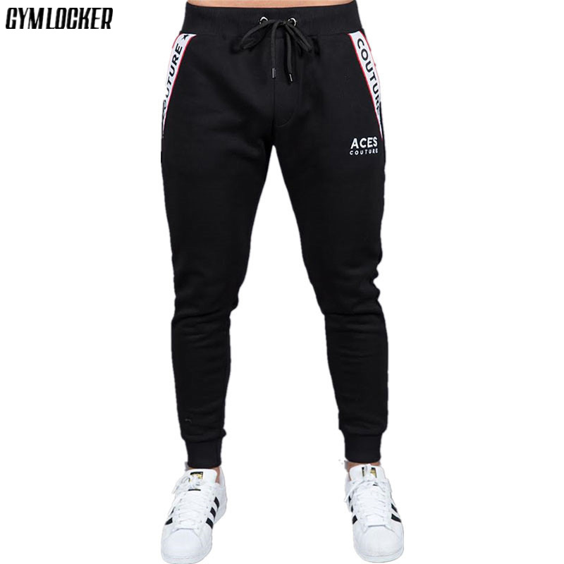 New boutique Brand Gyms Fitness Mens Joggers Casual Men Sweatpants Joggers Trousers Sporting Clothing Bodybuilding Pants men 6