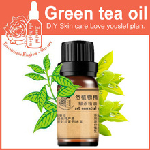 Free shopping 100% Pure plant essential oil green tea essential oils 10ml Antidandruff anti-aging, anti-oxidation.