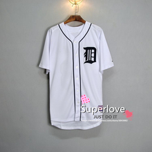 Men/Women Short Sleeve Tigers Baseball Jersey Quick Dry Sport Hip Hop/Base Suit Jerseys/Shirt/Custom For Homme/Hombre/Mujer