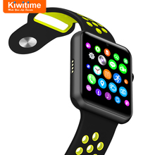 KIWITIME Bluetooth Smart Watch Connected With SIM Card Camera KT25 SmartWatch for iOS iPhone Sony Android Phone Apple Watch DZ09(China)