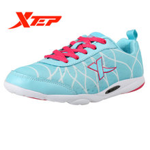 XTEP 2017 summer sale Profession Pink Harajuku Women's Lady Running Athletic Sports Sneakers Shoes free shipping 985218119356