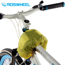 ROSWHEEL Bicycle Frame Front Bag Rain Cover Mountain Road Bike Cycling Pannier Bag Rain Cover for 12529 Bicycle Accessories