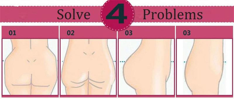 NINGMI Women Paded Hip Enhancer Butt Lifter Waist Trainer Shapewear Wedding Body Modeling Tummy Control Panties Slimming Shaper 20