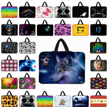 Animals Notebook Computer Mini Netbook Neoprene Inner Sleeve Pouch Bags Case For 9.7 10.1 12 13.3 14.1 15 17 17.3 inch Laptop PC
