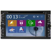6.2 inch 2 DIN Universal Win 8 Car Stereo Radio GPS Navigation Car DVD Player Support FM Mp3 USB/SD Autoradio with 8GB Map card