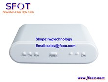 Network Routers Telecom Equipment 1GE EPON ONU ONT, with PPPoE function, comply with Huaway, ZTE, Fiberhome OLT