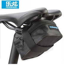 Buy ROSWHEEL Cycling Bag Bike Bicycle Saddle Rear Seat Tool Bag Quick Release Black Tail Pouch for $5.01 in AliExpress store