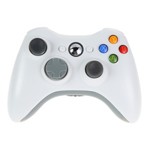 White 2.4G Wireless Gamepad Joypad Game Remote Controller Joystick With Pc Reciever For Microsoft For Xbox 360 Game Console