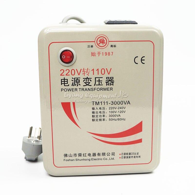 3000W transformer voltage converter 220V to 110V / 110V to 220V <br>