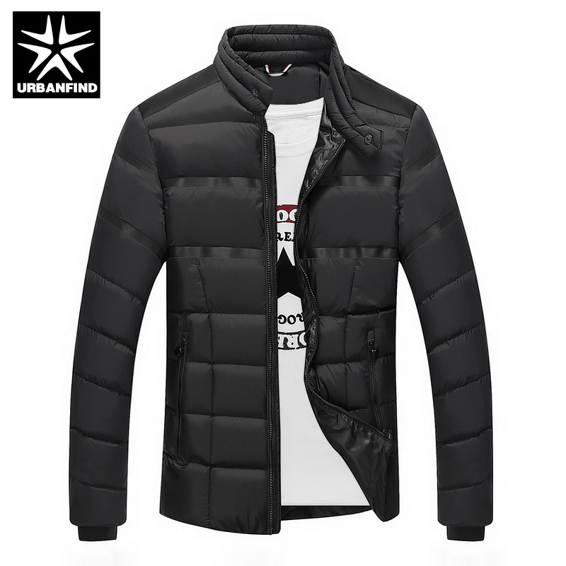 URBANFIND 2017 New Stylish Mens Winter Jackets Coats Size M-3XL Slim Fitness Long Sleeve Cotton-Padded Man Parkas Одежда и ак�е��уары<br><br><br>Aliexpress