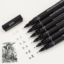 005 01 02 03 05 08 Pigma Micron Ink Marker Pen drawing sketch cartoon gel pen Stationery Art markers supplies 04307(China)