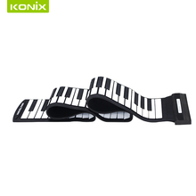 Factory Manufacture hot sell hand roll up electronic flexible piano with 88 keys profesional keyboard(China)