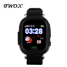 Original child Q90 Touch Screen WIFI Smart baby Watch Location Finder Device GPS Tracker watch for Kids better than Q50 Q60 Q80(China)