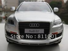 hot sale! 4CH battery power remote control kid's toy car, 1/14 scale Audi Q7 RC model car free shipping