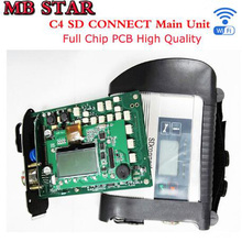 07/2017 Full Chip MB STAR C4 SD CONNECT Compact 4 Diagnostic -Tool with WIFI Function XENTRY MB star diagnosis c4 DHL free