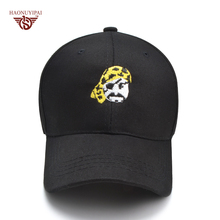 New High Quality Cotton Baseball Cap Brand Cute Pirate Image Casual Bone Hat For Man Women Adjustable Snapback Cap Sun Gorras