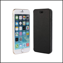 Phone Case For iPhone 6 4.7 Inch Thin PU Leather Phone Wallet Simple Book Stand Mobile Shell For iPhone 6 Cover(China)
