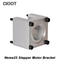 Free Shipping Nema 23 Stepper Motor Bracket 3D Product Accessories Mounts Bracket Machine Tool Nema23 Stepping Mounting