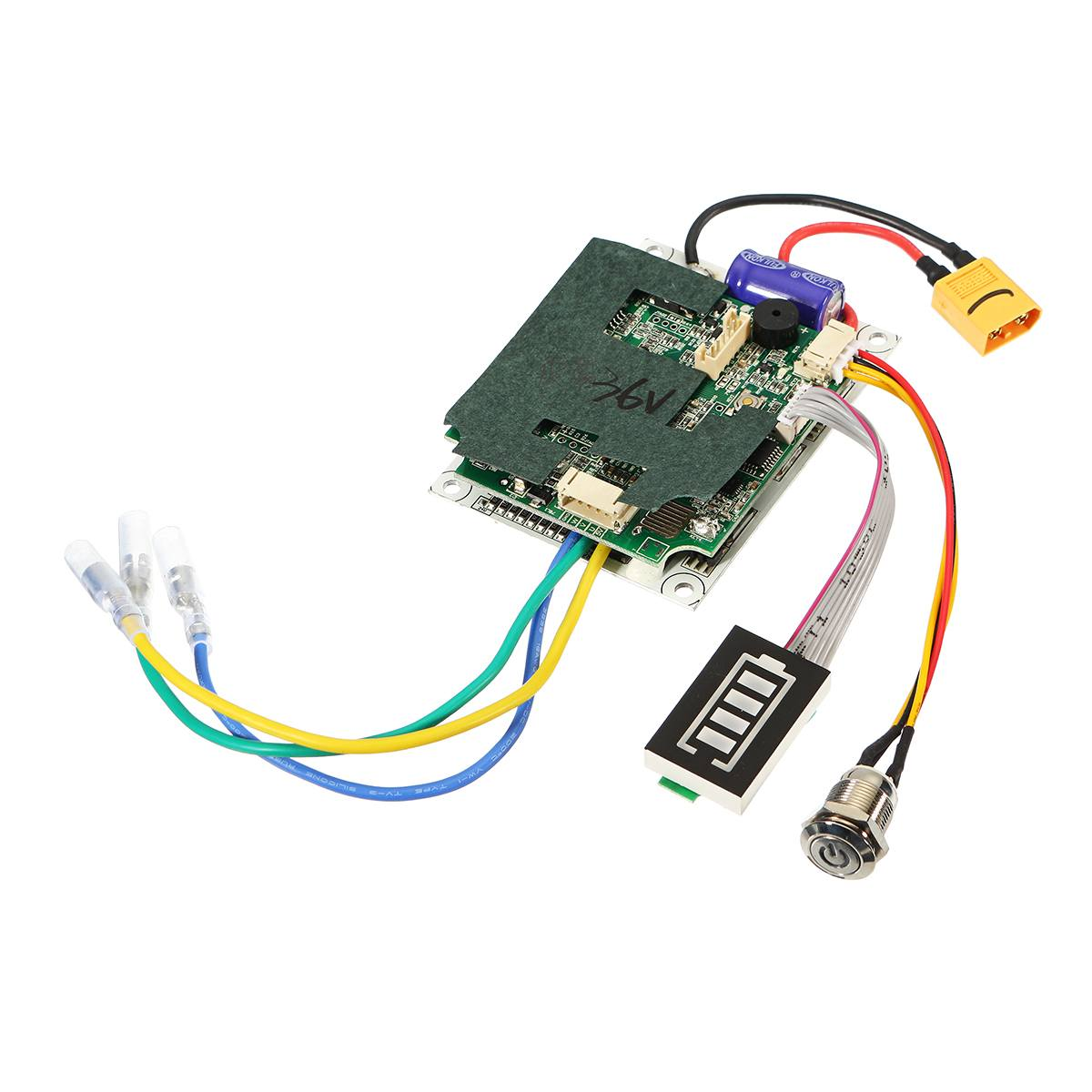 24/36V Single Belt Motor Electric Skateboard Controller Longboard ESC Substitute Parts Scooter Mainboard Instrument Tools 38