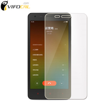 For Xiaomi Redmi 2 tempered glass 9H 2.5D High Quality Screen Protector Film For Hongmi 2 Red rice Cell Phone
