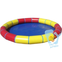 Dia 6m Inflatable Round Pool Water Game Swimming Pools Park With 3pcs Water Walking Ball Free Air Pump