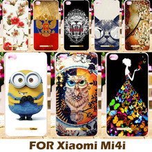 Top Selling Painting Design Hard Plastic Case For Xiaomi Mi4i X9 M4C 5.0 Inch 4C M4i Mi 4i Mi4 I Phone Cover  Protective Sleeve
