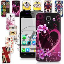 For EXplay Vega 1 Pcs ! High Quality Hard Butterfly Flower Design Cell Phones Case Back Cover Skin