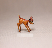 Free shipping 60pcs/lot 3.5cm Lovely Cartoon Bambi Fawn subminiature figures collection toys