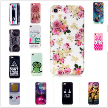 new cute cartoon owl imd soft TPU thin silicone cover case for iphone 7 cases letters retro tapes game boy brand floral