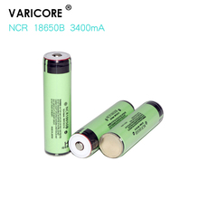6 pcs 100% new 18650 3400 MAH 3.7 V Li ion rechargebale PCB protected 18650 battery rechargeable battery+Free delivery(China)