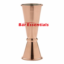 Copper Plated Bar Cocktail Jigger Japanese Inspired Design 30/60ml Banded Double Jigger 304 Stainless Steel(China)