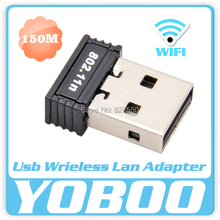 RTL8188 chips Mini 150Mbps USB wifi dongle Wireless Network Card WiFi LAN Adapter 802.11n/b/g purchase pc wifi Laptop Desktop(China)