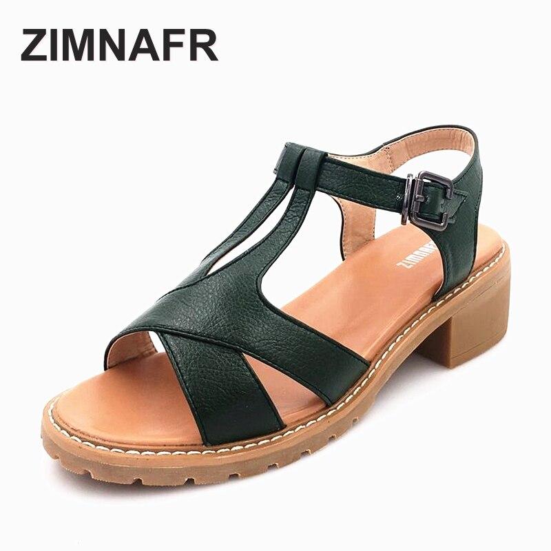 Female sandals 2017 summer new casual genuine leather Roman sandals soft bottom anti-skid beach breathbale  fish woman sandals<br>