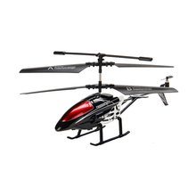 New Version Alloy Mini RC Helicopter 3.5 Channel Remote Control Drone aircraft With Gyro Electric RC Helicopters Christmas gift(China)