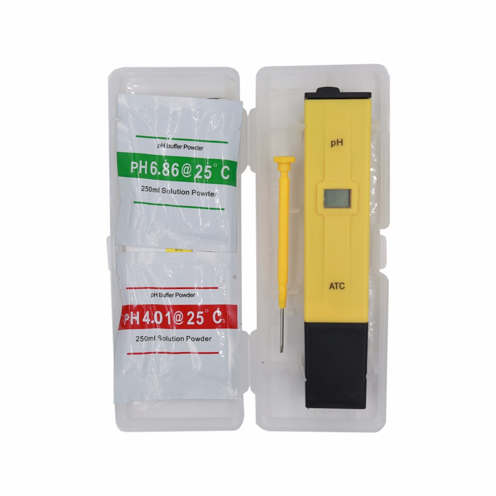 by dhl/fedex 100pcs/lot Portable Pen Water PH Meter Tester for Aquarium Pool Water Quality Laboratory with retail box % off 5