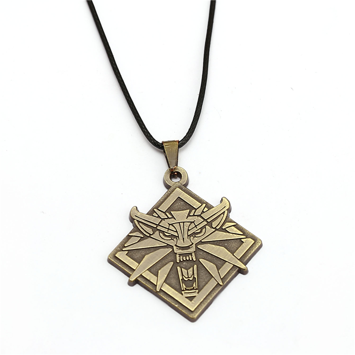 Witcher Necklace Golden