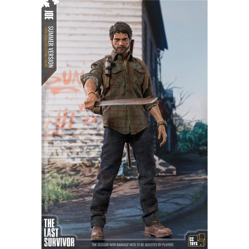 CC toys 1:6 Scale The Last Of US Game Joel Action Figure Collection Male Model