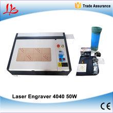 CNC Laser machine with all functions LY 4040 50w co2 laser engraving cutting machine
