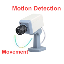 imitation dome security camera fake cctv IR motion detector with move function scaring camera dummy camera Simulation Camera(China)