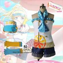 Love Live Ayase Eli Party Fashion Lolita dress Skirt Cosplay Anime Costume Summer Part-time Job Uniform Any Size Free Shipping
