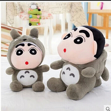 35cm Crayon Shin Chan Crayon Mascot Plush Toy Doll Cute Soft Totoro Plush Toys Doll Best Gift