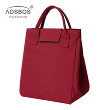 Buy Aosbos Portable Oxford Thermal Lunch Bags Women Men Kids Insulated Striped Storage Tote Box Fashion Picnic Food Cooler Bag for $9.75 in AliExpress store