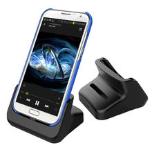 Dual Sync Dock Battery Charger 2 in 1 Stand Cradle For Samsung Galaxy Note 2 II N7100 N7105 N7108 Phones Charger dock Station