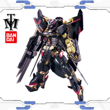 BANDAI Mobile suit Seed 1/144 Gundam Astray Gold Frame Amatsu Customizable model kids assembled Robot Anime action figure toys