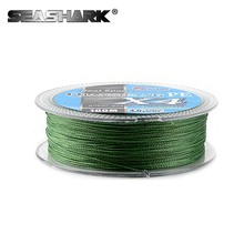 SEASHARK 100M Fishing Line Fire Filament Line Smooth PE Fire Fishing Line MONO Floating Line Saltwater/Freshwater 6LB-100LB(China)