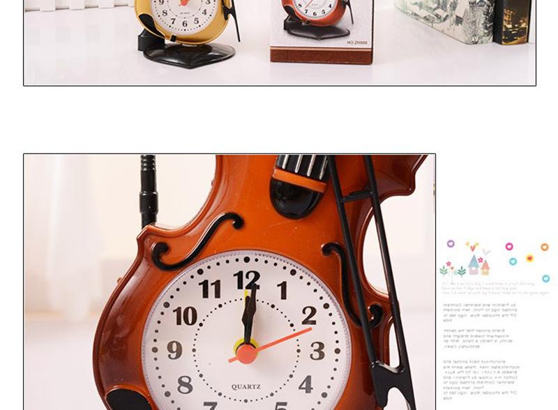 car digital clock lit parapluie pendulum of clock small desk clock clock for desk islamic wall clock retro wall clock mechanical table clocks table date (17)
