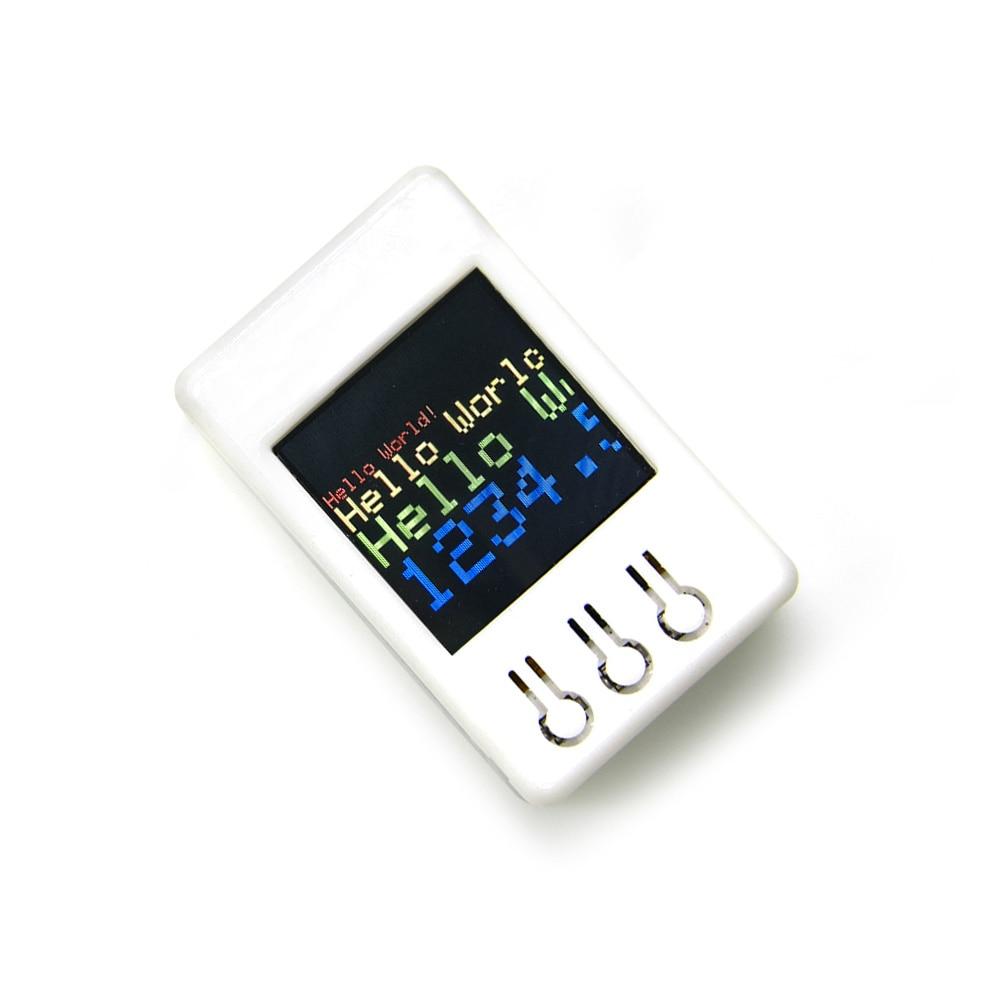 LILYGO® TTGO TS V1.2 DIY Box ESP32 1.44 Inch 128*128 TFT MicroSD Card Slot Speakers Bluetooth Wifi Module