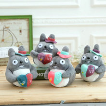 "1pcs/lot 7"" 20cm New Totoro Plush Toys Car Accessories, Plush Stuffed Toy Pendant,Kawaii Mini Totoro doll(China)"